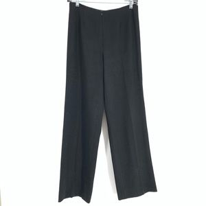 Silvia Sharrel High Waist Black Trouser Pants Sz M
